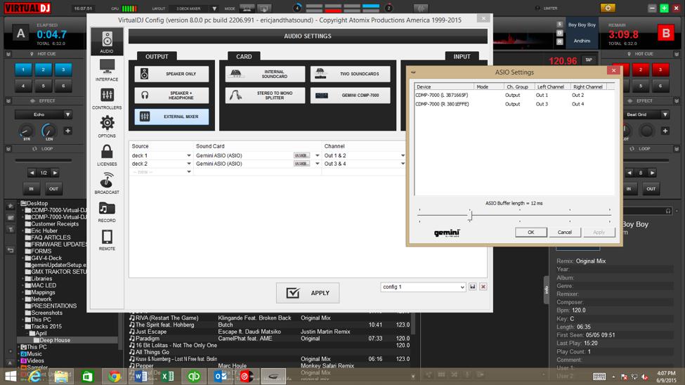 Cdmp-7000] pc virtual dj setup guide – gemini sound.